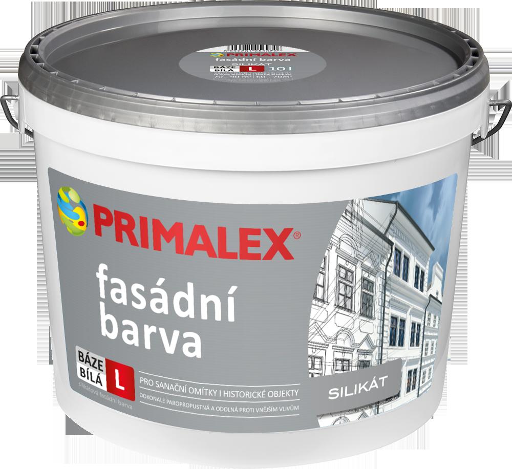 Primalex Silikátová  fasádní barva