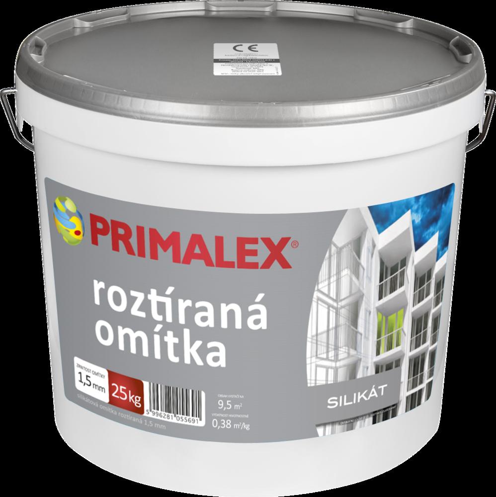 Primalex silikátová roztíraná omítka