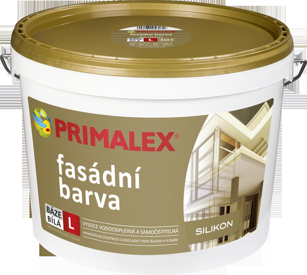 Primalex silikonová fasádní barva