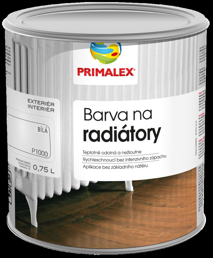 Primalex – barva na radiátory