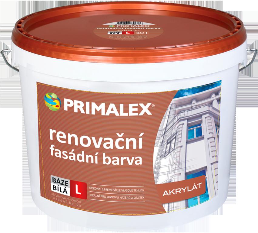 Primalex akrylátová renovační fasádní barva